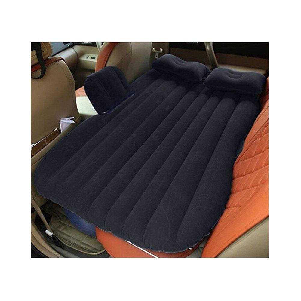 L&Z Auto Aufblasbare Matratze Auto Bett Mobile Kissen Camping Air Bed Mit Motorpumpe Zwei Kissen Für Reise Und Schlaf Rest