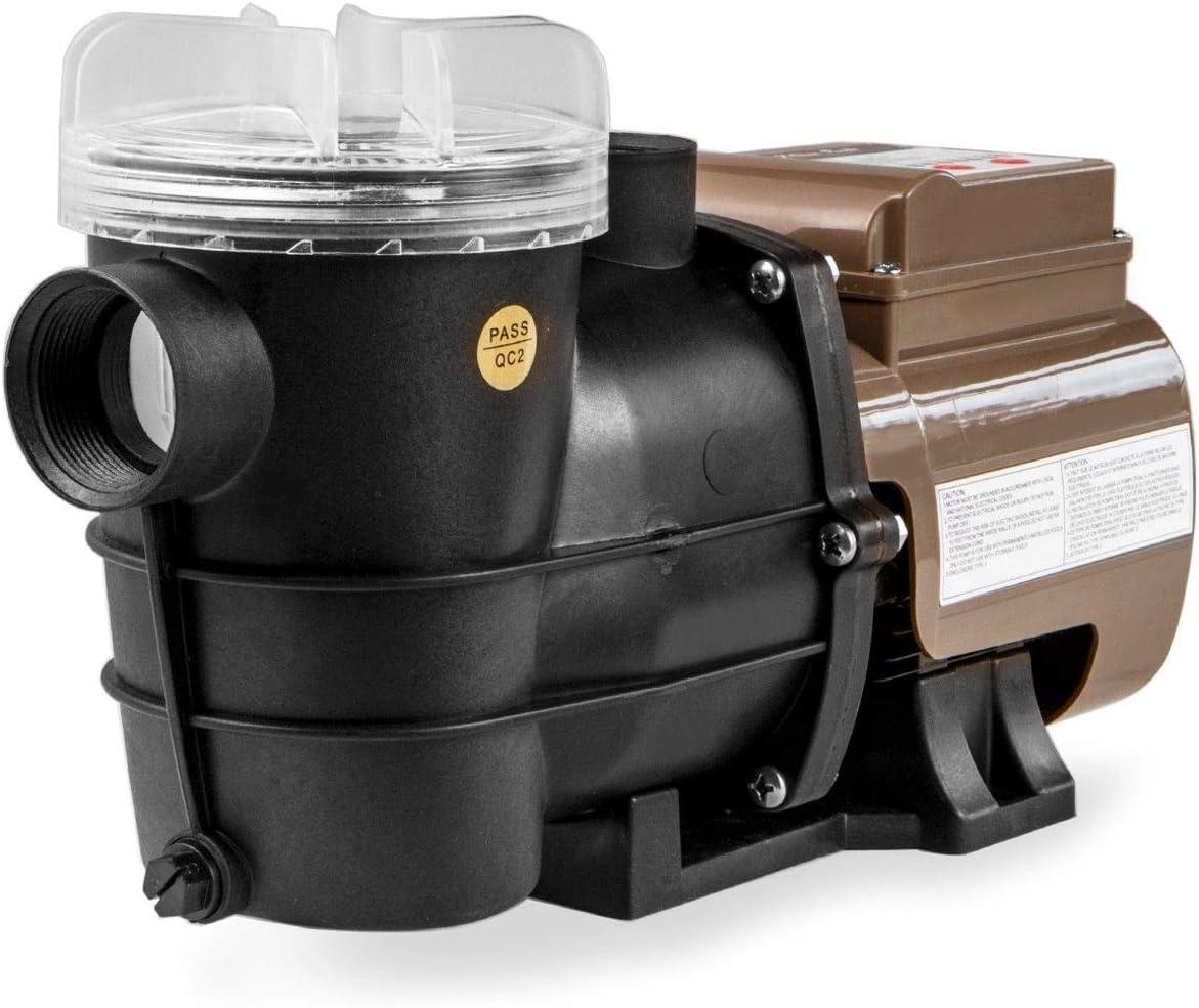 Black XtremepowerUS 75131-V1 16 Sand Filter Swimming 3/4 HP Pump w ...