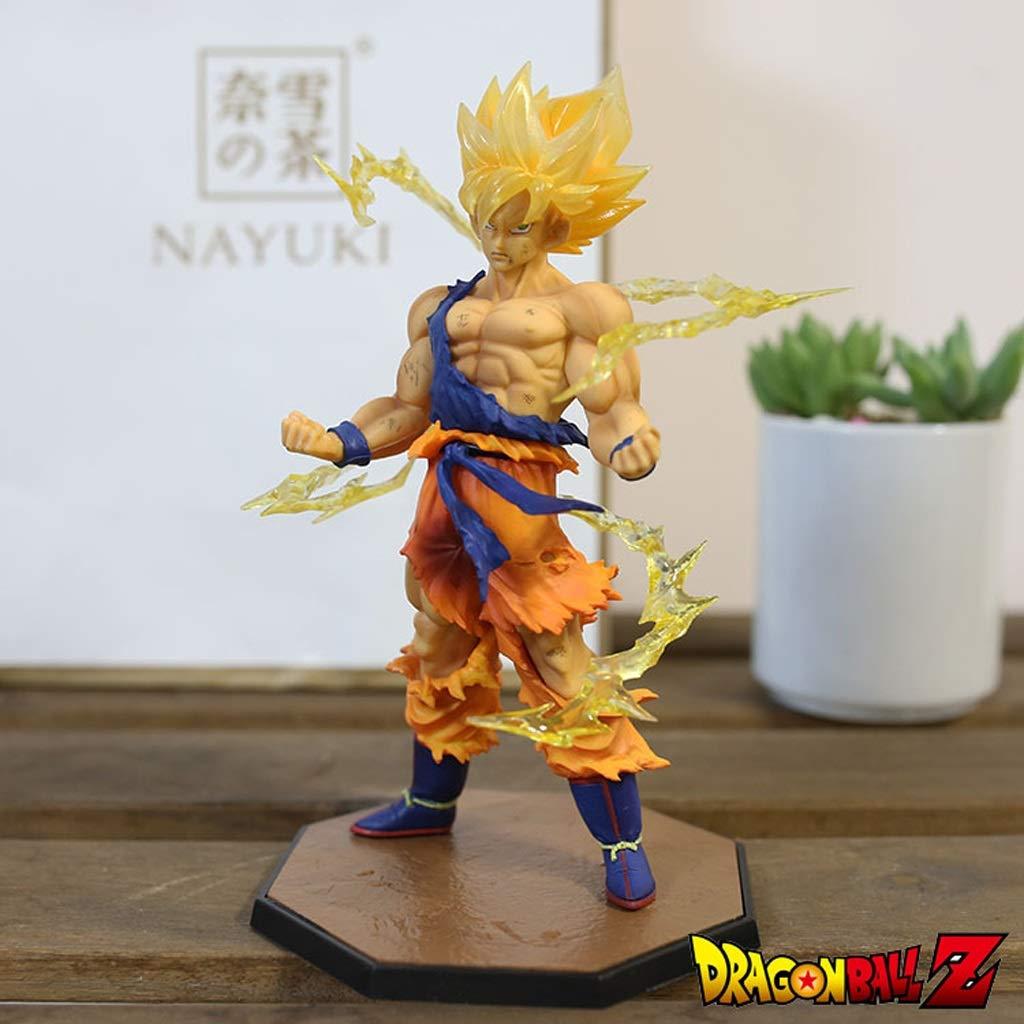 wholesape barato LXRZLS Dragon Ball Goku Modelo de Juguete Estatua 3D 3D 3D Decoración de Oficina en el Hogar Coleccionables  solo para ti
