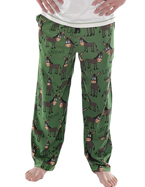 Lazyone Mens Asleep At The Reel Pj Trousers Adult Men's Clothing