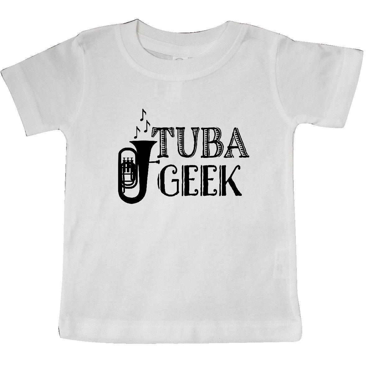 a2827a46 Amazon.com: inktastic - Tuba Player Music Gift Baby T-Shirt: Clothing