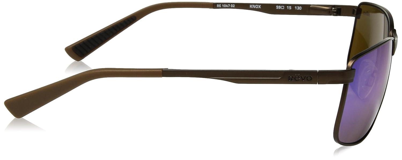 a10f78b88b0 Amazon.com  Revo Unisex Unisex RE 1055 Devin Butterfly Polarized UV  Protection Sunglasses  Clothing