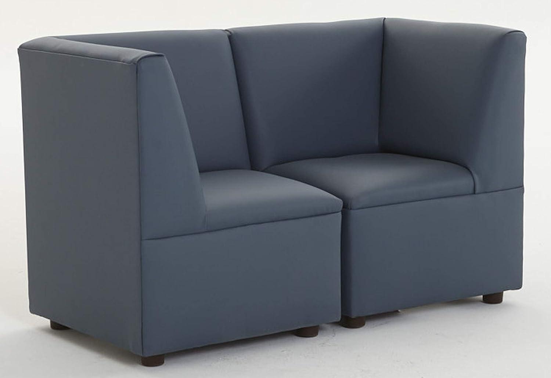 Blue Brand New World Furniture FM2B-211 Modern Casual Enviro-Child Corner Chair-Blue