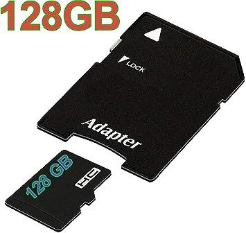 tomaxx - Tarjeta de Memoria Micro SDHC (128 GB, UHS-1, Clase 10 ...
