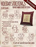 img - for Holiday Stockings Hand Embroidery Patterns book / textbook / text book