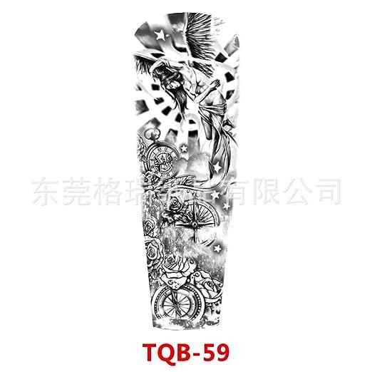 tzxdbh 3Pcs-Full Brazo Etiqueta engomada del Tatuaje Brazo ...