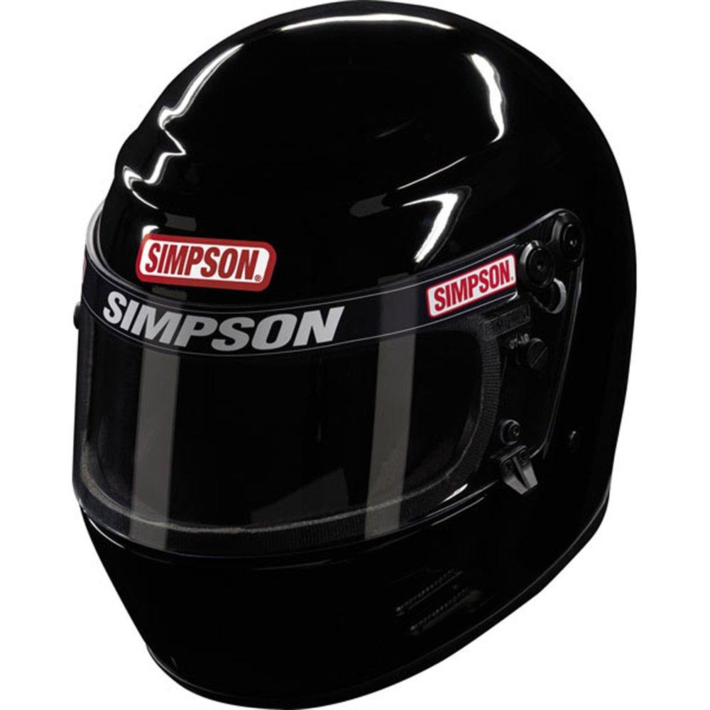 Blk Simpson 6100038 Voyager 2 Helmet 2015 Large M