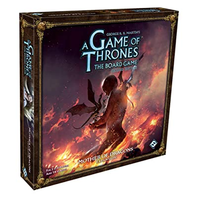 Fantasy Flight Games A Game of Thrones Board Game: Mother of Dragons Expansion: Toys & Games