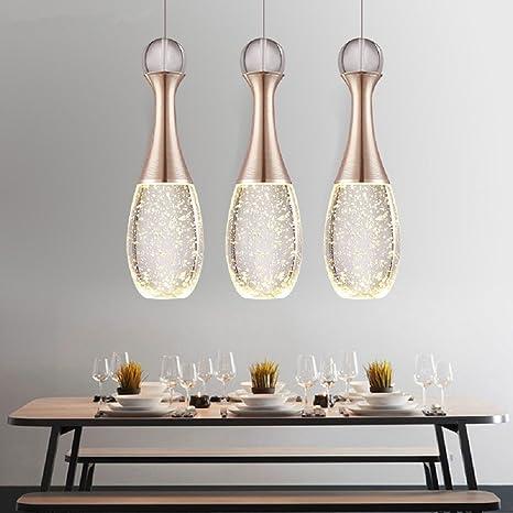 Lámpara Araña de Techo de Cristal 15W LED Luminaria Mini ...