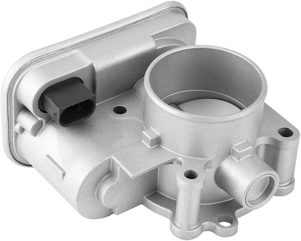 Qiilu Complete Throttle Body Assembly Compatible with 2007-2016 Jeep Cherokee Compass Patriot Replace Dodge Avenger Caliber Journey Chrysler 1.8 2.0 2.4L 04891735AC