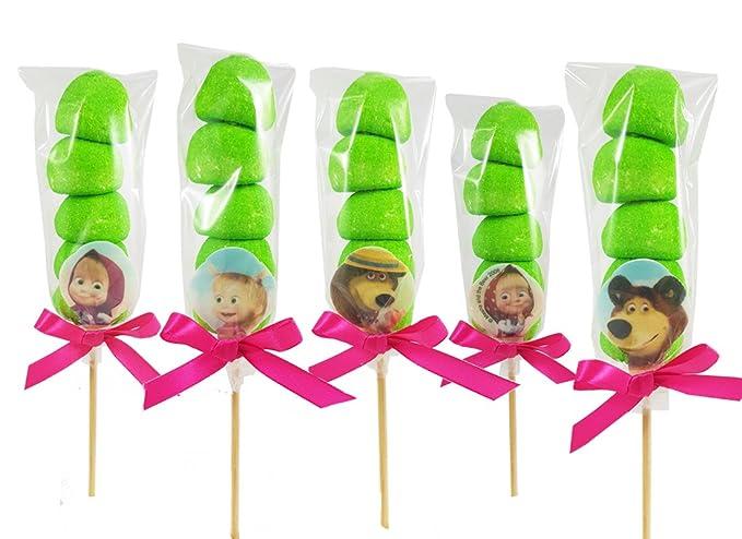 bambino vendita online sito web professionale Bulgari - Set spiedini di marshmallow fai da te (Masha e Orso)