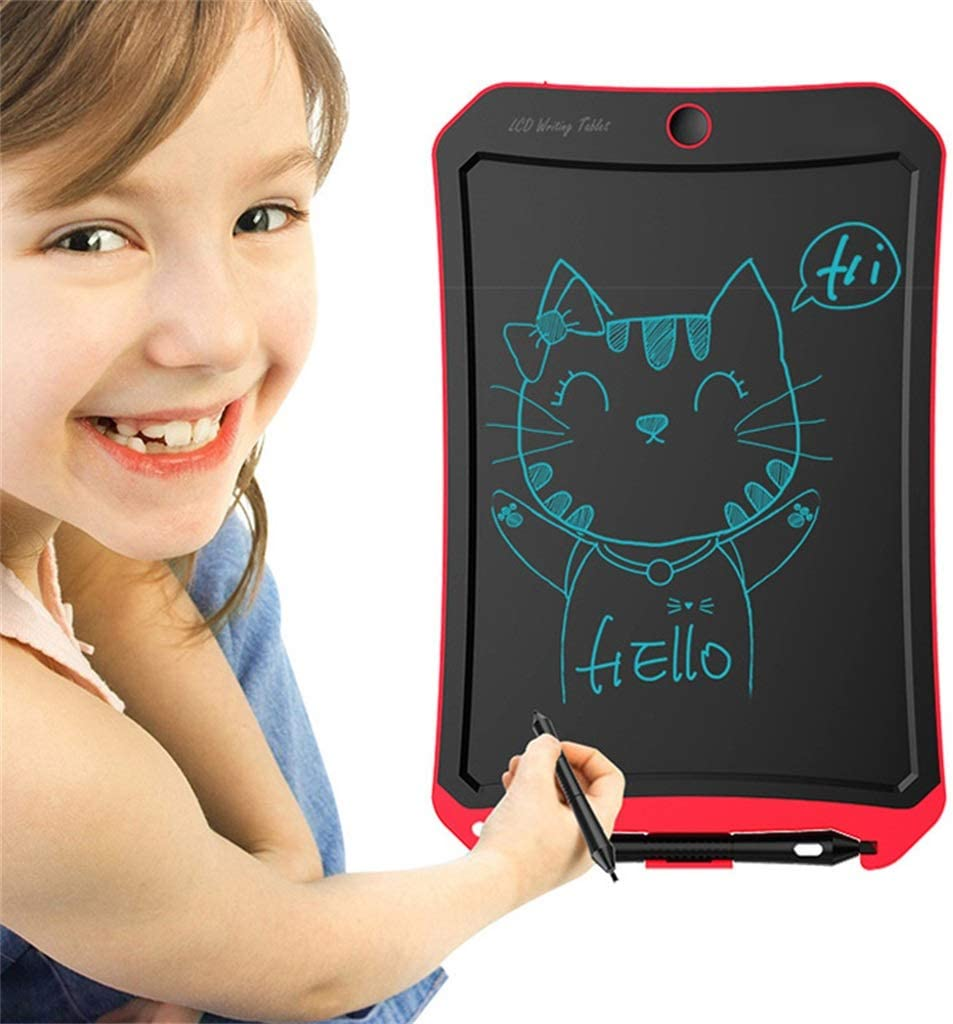 LCD Writing Tablet//Electronic Writing 8.5 Inch Childrens Drawing Board Non-Magnetic Light Energy Small Blackboard Graffiti Monochrome