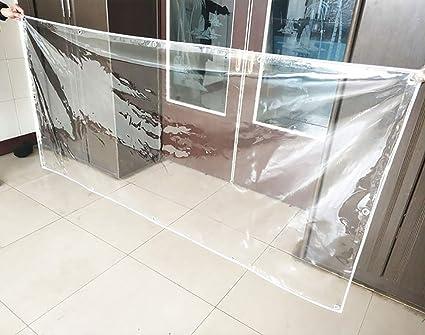 WGE Lona Lona Transparente, De 0,5 Mm De Espesor De Lonas Impermeables, Picnic Mat Flor Shed Cubierta, 650g / ㎡ (Size : 2×2.5m): Amazon.es: Hogar
