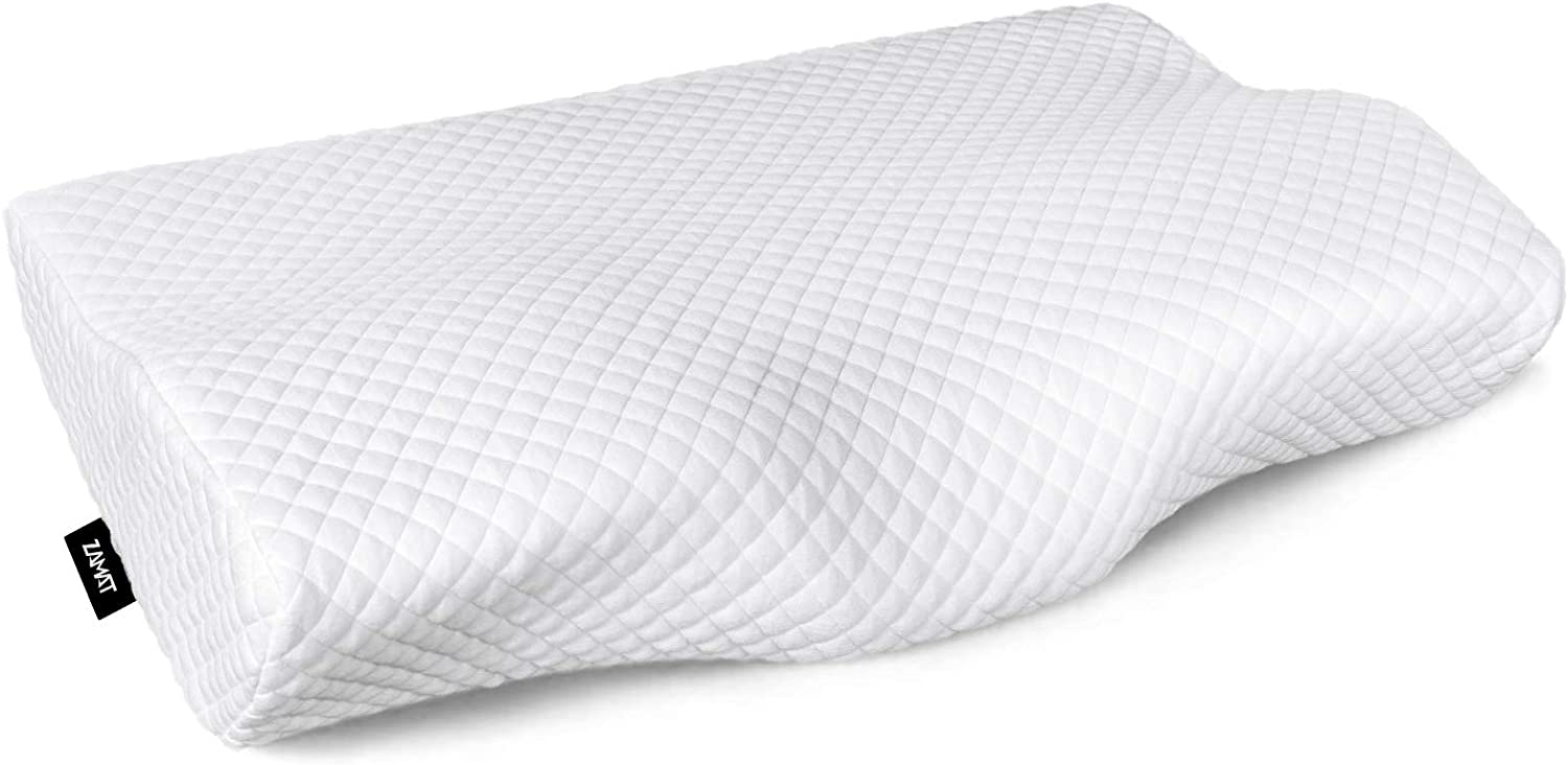 Back Pillow Optional Ergonomic Support Cushion for Air Car Office Nap Neck