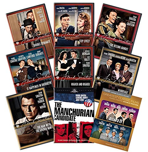 Ultimate Frank Sinatra 10-Film DVD Collection: Ocean's 11/Robin and the 7 Hoods/The Manchurian Candidate/Double Dynamite/Step Lively/The Kissing Bandit/It Happened in Brooklyn/Higher & Higher/Marriage (Robin And The Seven Hoods Frank Sinatra)