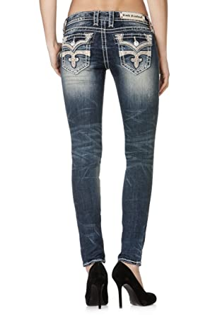 Rock Revival Womens Celine Skinny Jeans (31) at Amazon Women s Jeans ... 0fe47e2081b9d