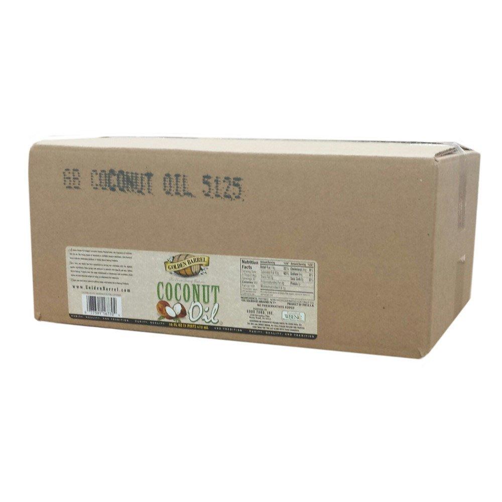 Golden Barrel Coconut Oil (12/16 fl. oz. Case)