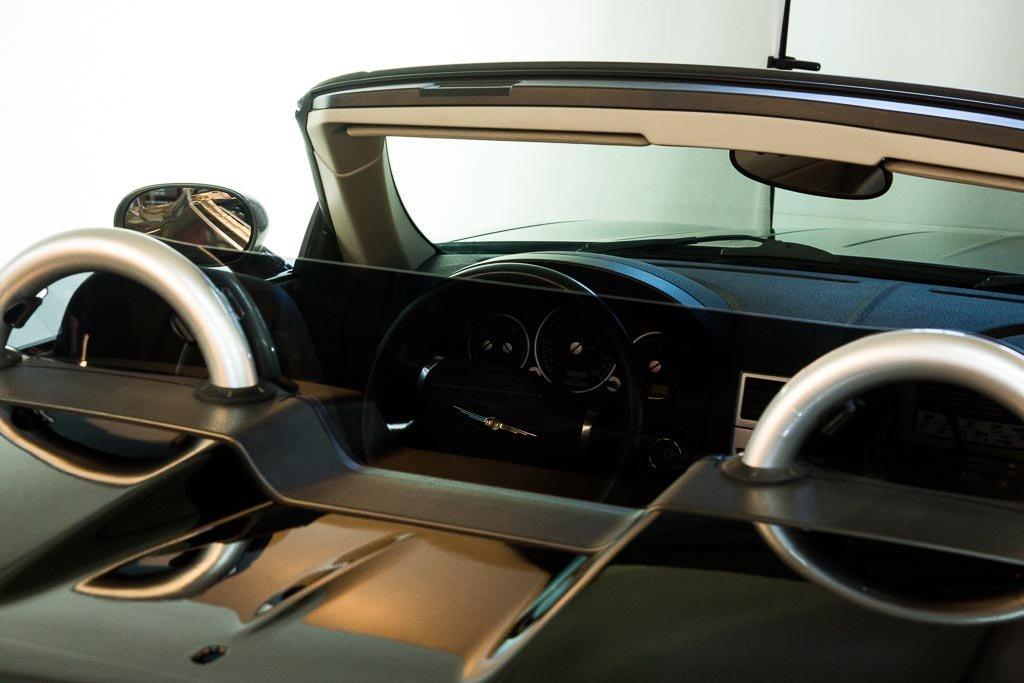 DEFLECTAIR(TM) - Wind Deflector for Chrysler Crossfire Convertible - Black
