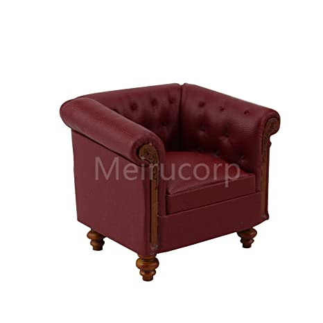 Amazon com: Meirucorp Miniature Furniture Dollhouse 1/12 Scale red