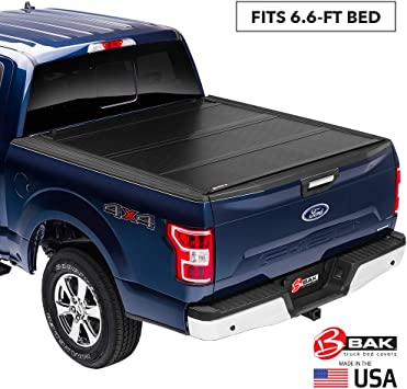 226327 fits 2015-19 Ford F150 6 6 Bed BAKFlip G2 Hard Folding Truck Bed Tonneau Cover
