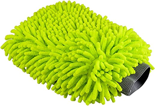 Chemical Guys MIC497 Chenille Microfiber Premium Scratch-Free Wash Mitt 9 x 7 Ch