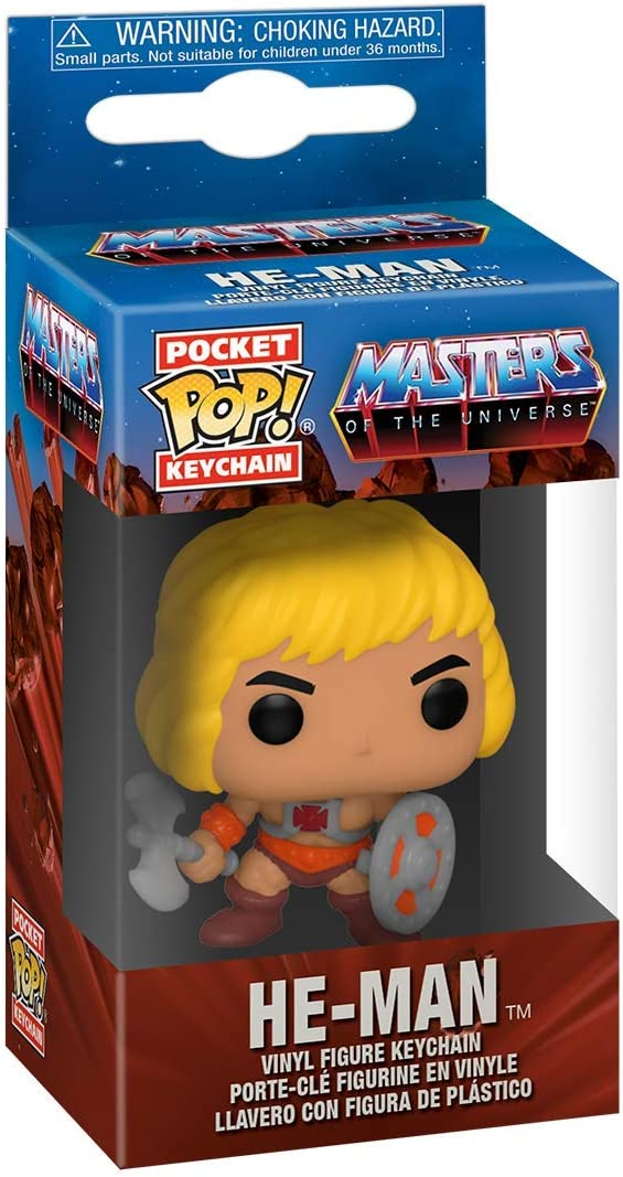 Funko 51460 POP Keychain Masters of The Universe-He-Man Multicolour