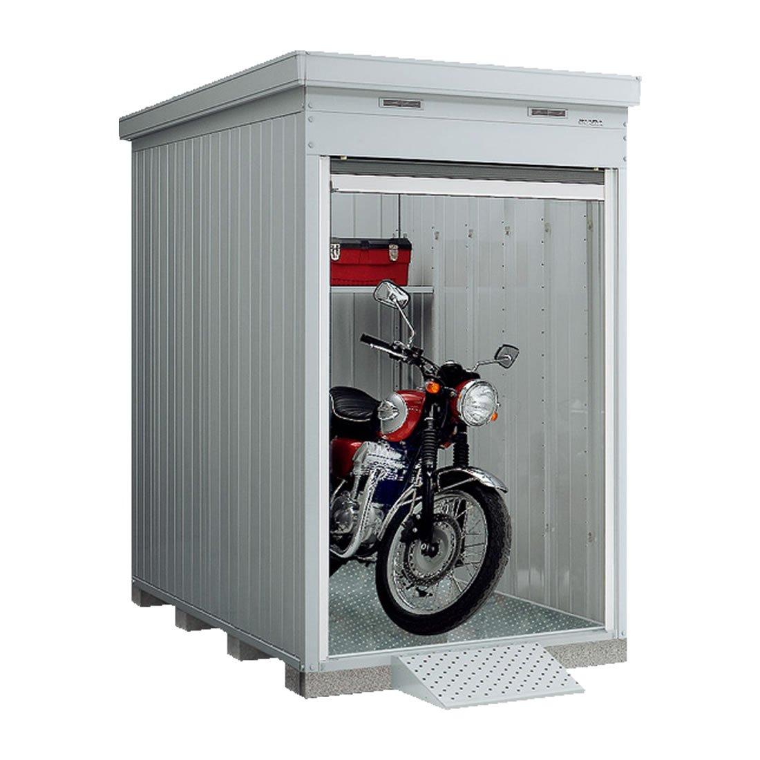 【新潟長野 限定販売】イナバ物置 バイク保管庫 FXN-1326HY 一般多雪地型共通 床付タイプ UG(アーバンGM) B01N43MAS1 アーバンGM