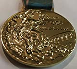 1996 Atlanta Summer Olympics Souvenir GOLD medal with ribbon RARE TEAM USA (Not a coin or pin)