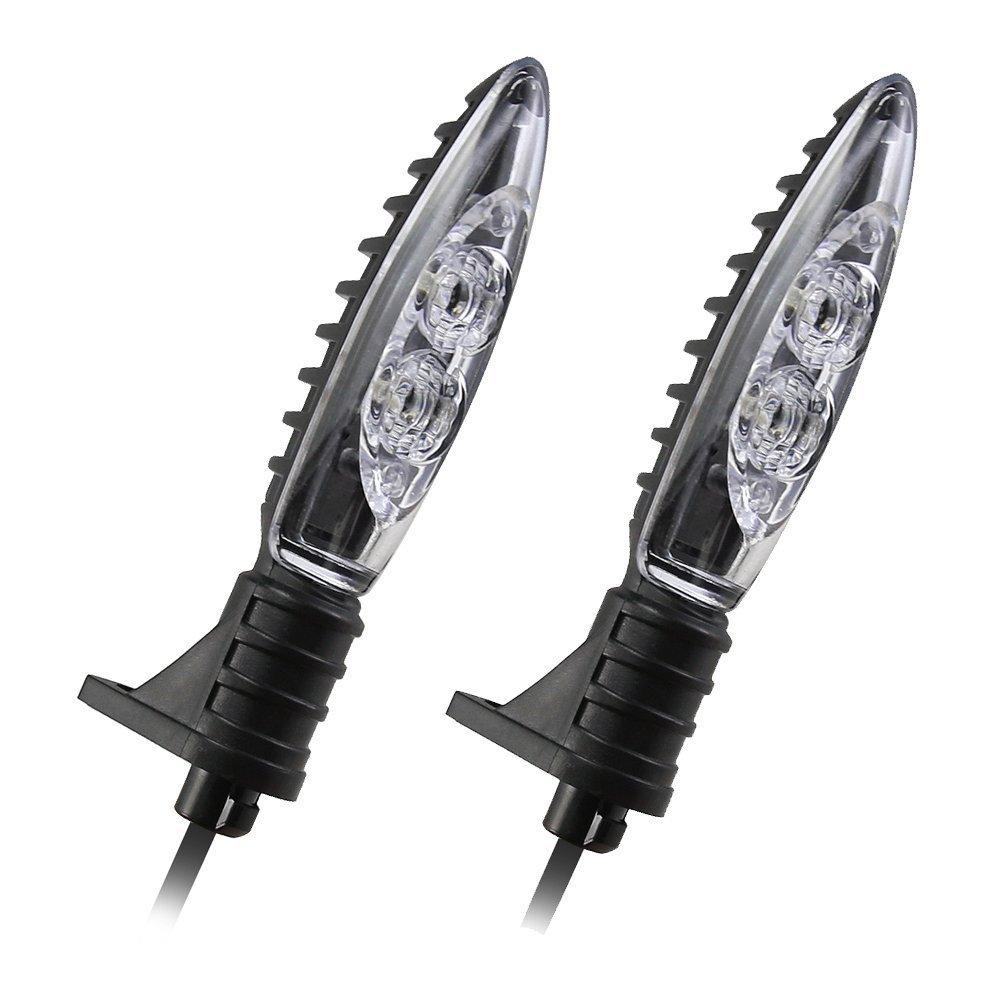 anteriore e posteriore girare segnale indicatore luce LED per BMW F800R F800GS F650GS F800ST F800S K1200R K1200R sport HP2/sport R1200R R1200GS R1200GS Adventure moto LED indicatori