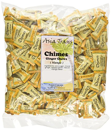 Chimes Mango Ginger Chews, 2-pound Bag by Chimes (Image #1)