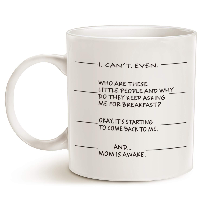 Amazon.com: MAUAG Christmas Gifts Idea - Funny Coffee Mug for Mom, I ...