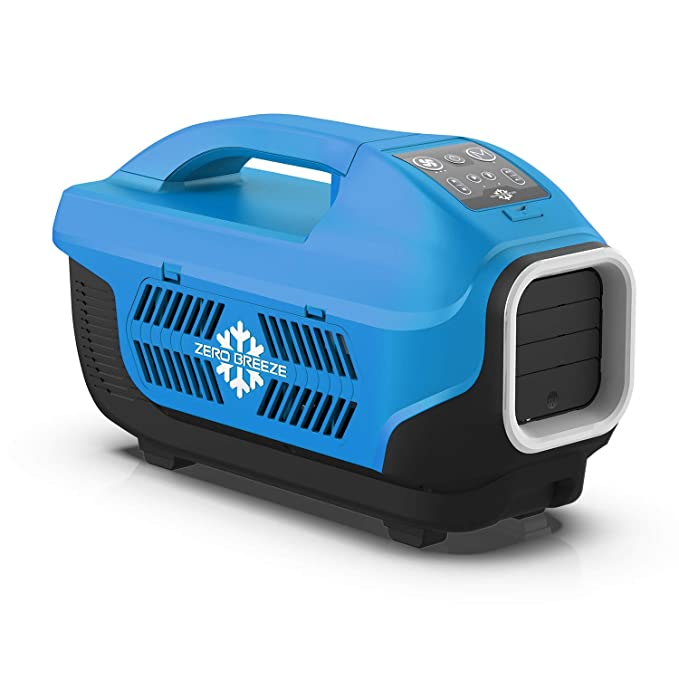 Zero Breeze Z19-B Portable Air Conditioner for Camping, 5-in-1 Multi  Functions, Suit for 1-4 Person Tent, RV, Van, Truck and Outdoors, Without  Battery