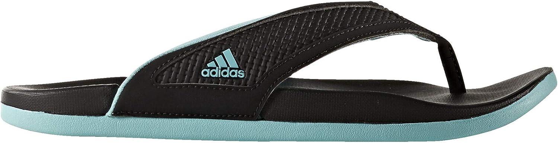 adidas W Adilette Cf+ Summer Y Black/Mint Sandals (S81198)