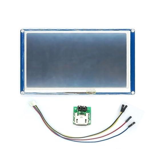 4 opinioni per itead nextion 7.0HMI intelligente nextion LCD modulo display per Arduino