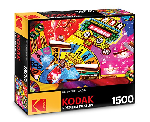 Cra-Z-Art KODAK Premium Puzzles: Fun Pinball Game 1500 pc
