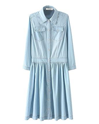 Kleid hellblau 44