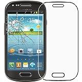 ebestStar - Verre trempé Samsung Galaxy S3 Mini GT-i8190, i8190N - Film protection écran en VERRE Trempé - Vitre protecteur anti casse, anti-rayure [Dimensions PRECISES de votre appareil : 121.6 x 63 x 9.9 mm, écran 4'']