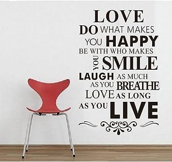 com diy happy live laugh love smile inspirational quote