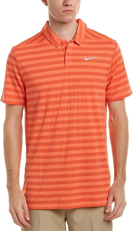 Nike Mens Golf Dry Polo, L, Orange: Amazon.es: Deportes y aire libre