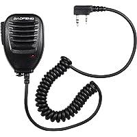 Festnight BAOFENG Speaker Two Way Radio Hand Microphone for BAOFENG UV-5R Walkie Talkie