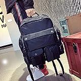 SLR Large Capacity Outdoor Sports Mountaineering Bag Men's Shoulder Bag Leisure Travel Backpack Mountaineering Hiking Camping Backpack Men's Bag,Black,27 inch