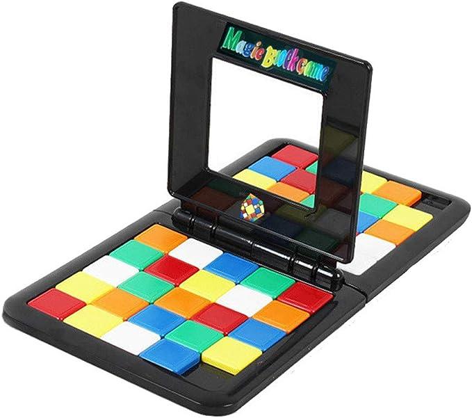 Juguetes Juegos de bloques magicos 2019 Juego de cerebros Niños y adultos Educación Juguete Juegos de Mesa Entre Padres e Hijos Juegos de Viaje Estrategia Habilidad Preguntas Juegos de tablero: Amazon.es: Bebé