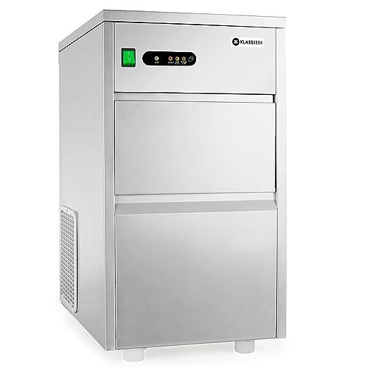8 opinioni per Klarstein Powericer King macchina per cubetti ghiaccio uso industriale (700W,