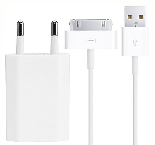5 opinioni per VAPIAO® 2in1 1 metro kit di cavi e la spina di alimentazione USB per iPhone con