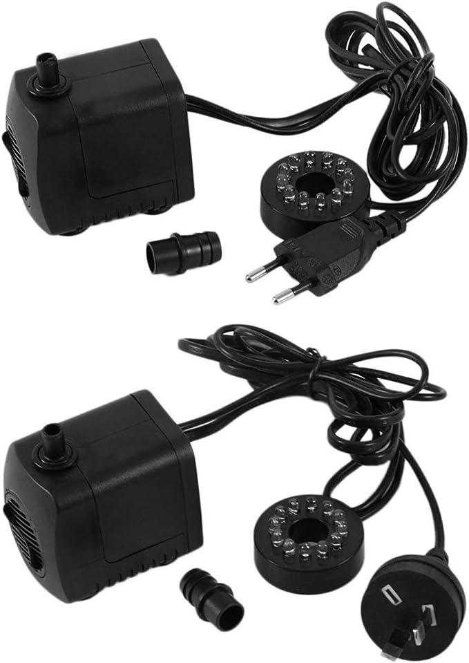 220-240V 15W 800L//H Micro Submersible Water Pump for Aquarium Fountain EU Plug