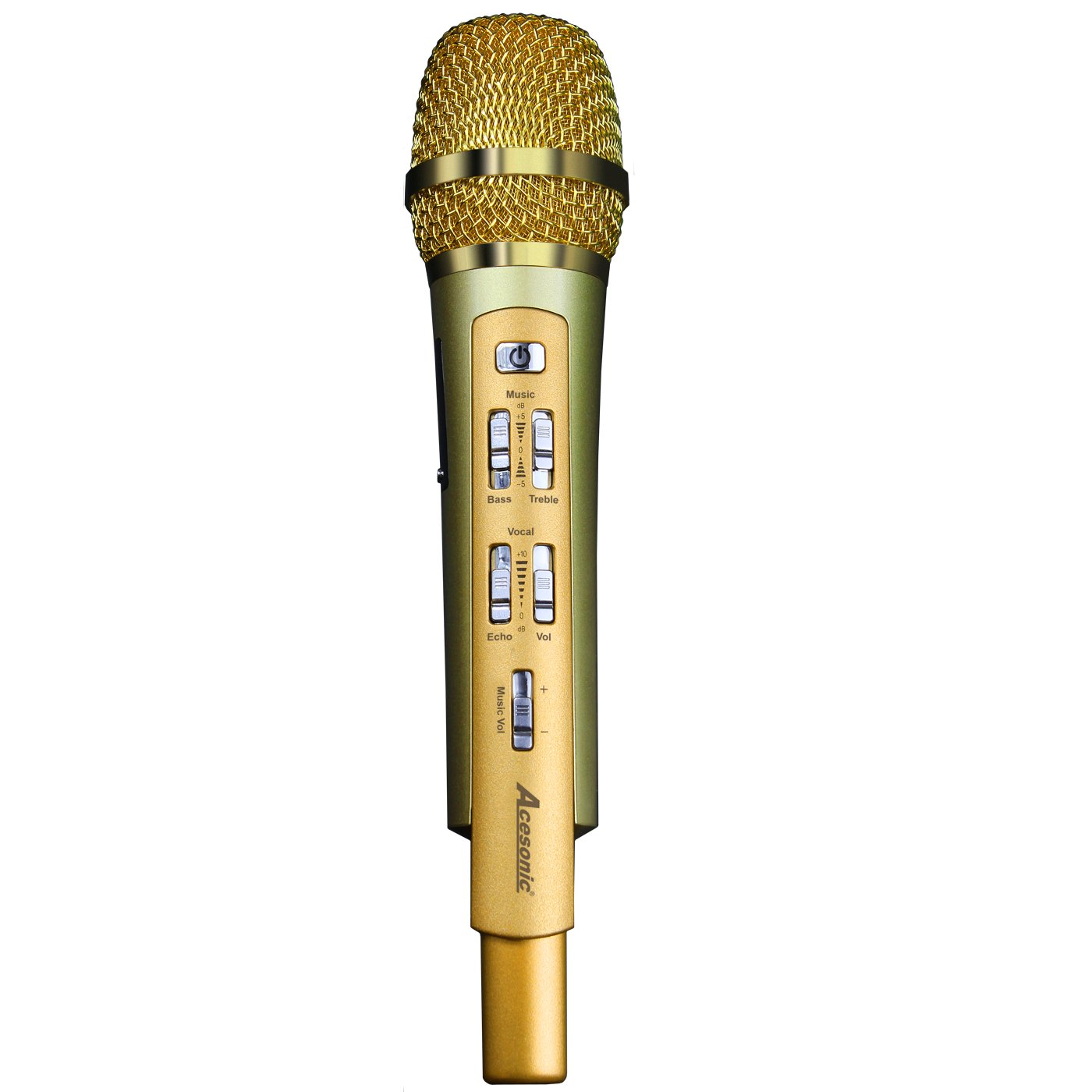 Acesonic RadioStar Karaoke Microphone with Bluetooth & FM Transmitter Use with your Smartphone