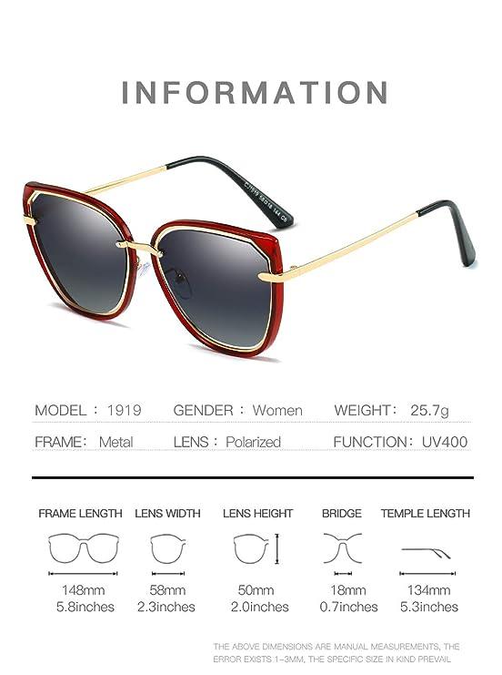 Amazon.com: Premium Al-Mg Alloy Pilot Polarized Sunglasses UV400, Sun Glasses for Men Women,B: Sports & Outdoors