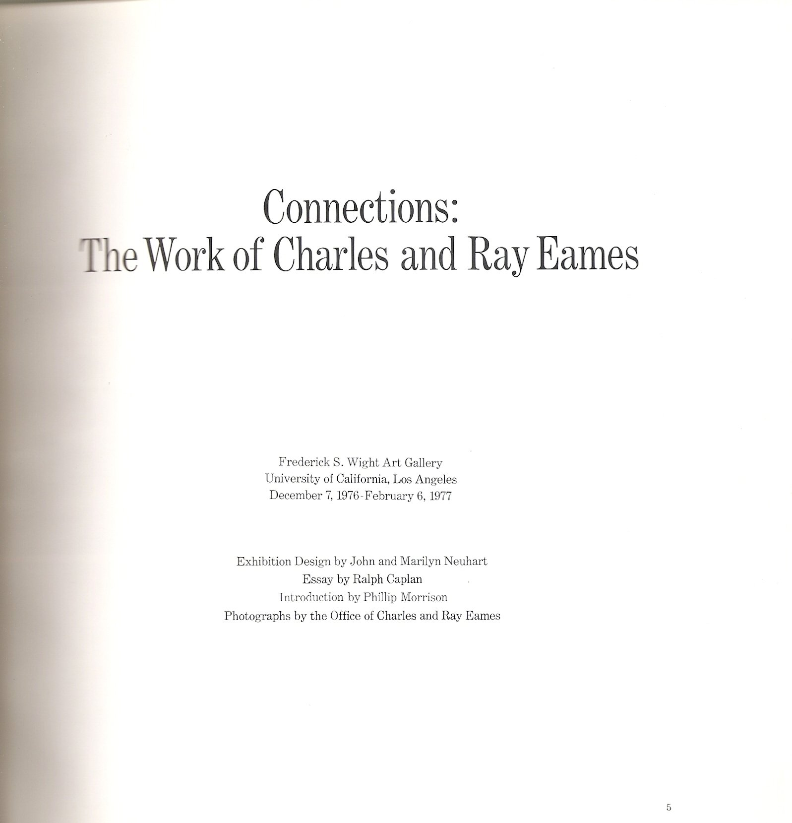 connections the work of charles and ray eames charles eames connections the work of charles and ray eames charles eames ray caplan ralph essay eames com books