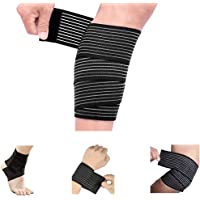 Calf Compression Bandage Sleeve Wrap Plus Size for Men and Women, Calf Pain Relief, Lower Leg Compression Support, Shin…