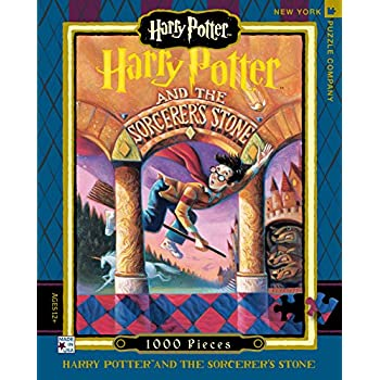 New York Puzzle Company - Harry Potter Sorcerer's Stone - 1000 Piece Jigsaw Puzzle